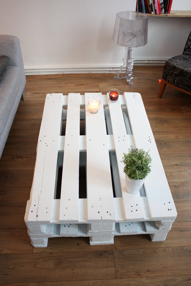 diy table basse avec palette. Black Bedroom Furniture Sets. Home Design Ideas
