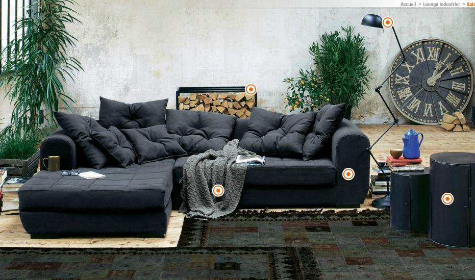 la d co industrielle selon am pm. Black Bedroom Furniture Sets. Home Design Ideas