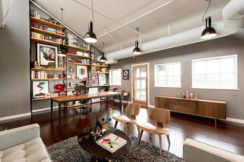 Un bureau d 39 artistes for Bureau style loft