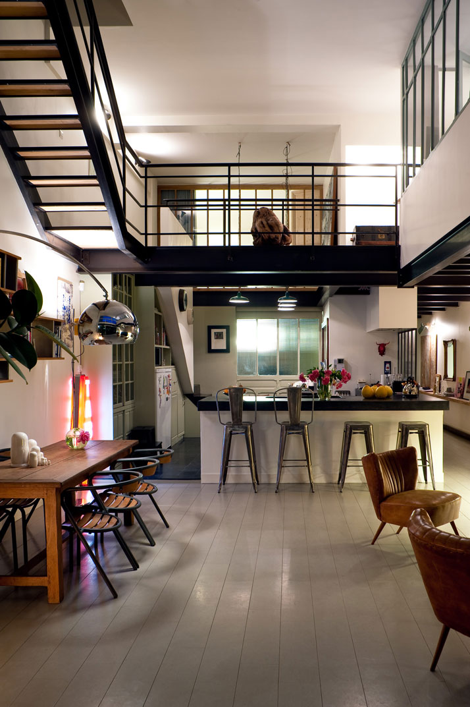 Un loft de r ve for Loft banlieue parisienne