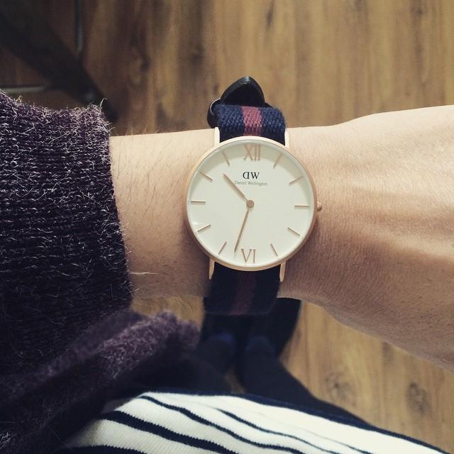 Hello Beauty ! Coup de cœur pour ma montre @danielwellingtonwatches…