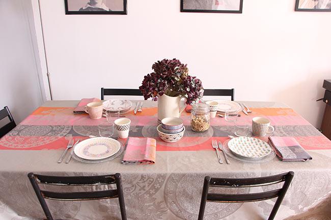 Une jolie table d'automne