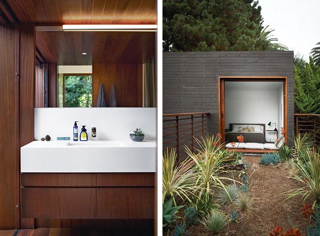 Salle de bain et chambre d'invité