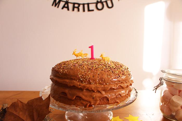 layer cake praliné