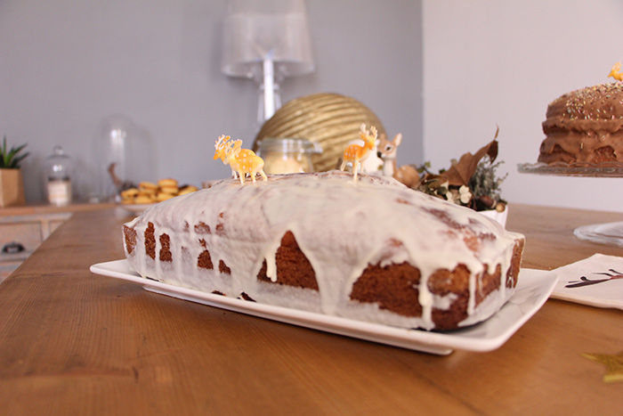 glaçage cake marbré