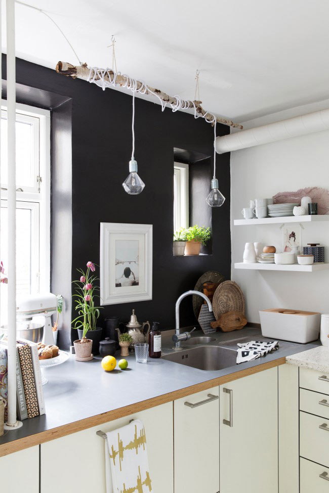 Un int rieur scandinave comme on les aime blueberry home for Cuisine scandinave
