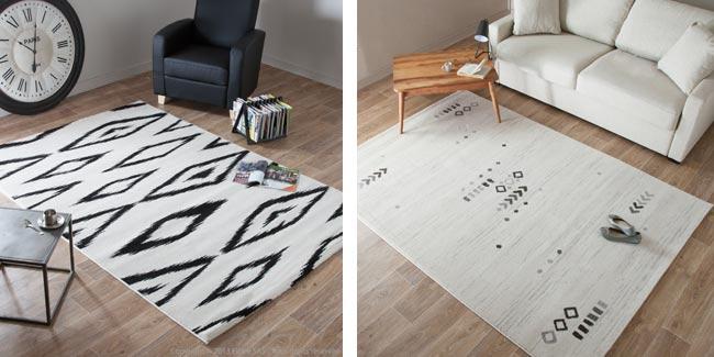 un nouveau tapis ethnique blueberry home. Black Bedroom Furniture Sets. Home Design Ideas